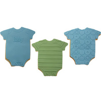 Baby Onesie Texture Cookie Set