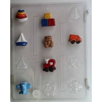 Boys Toys Chocolate Mould