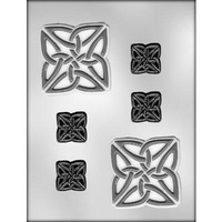 "Celtic Knot 3"" Square Mould"