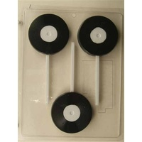 Record on Stick Choc Mould