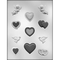 Hearts, Cherubs & Doves Mould