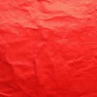 Red 15 cm Square Confectionery Foil 25 Sheets