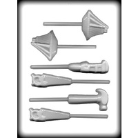 Boat & Tools on Stick HC Mould