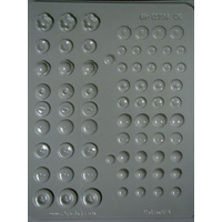 Button Asst Hard Candy Mould