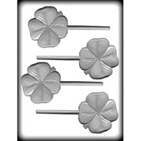 4-Leaf Clover Hard Candy Mould