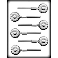 Daisy on Stick HCandy Mould