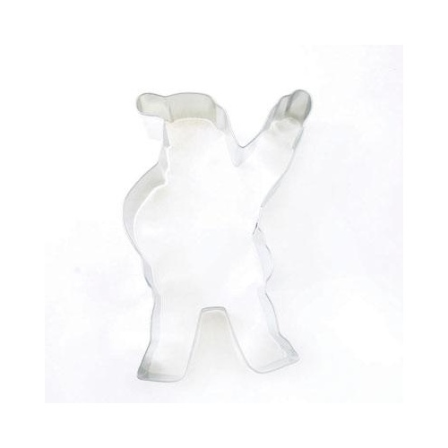 "Waving Santa 4"" Cookie Cutter"