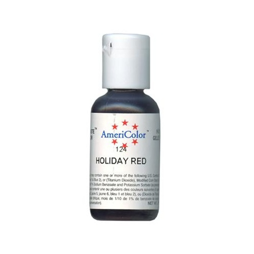Soft Gel Holiday Red Americolor