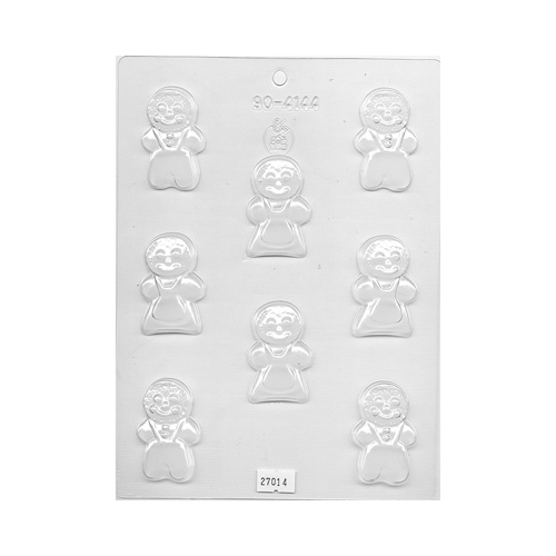 Gingerbread People Mould