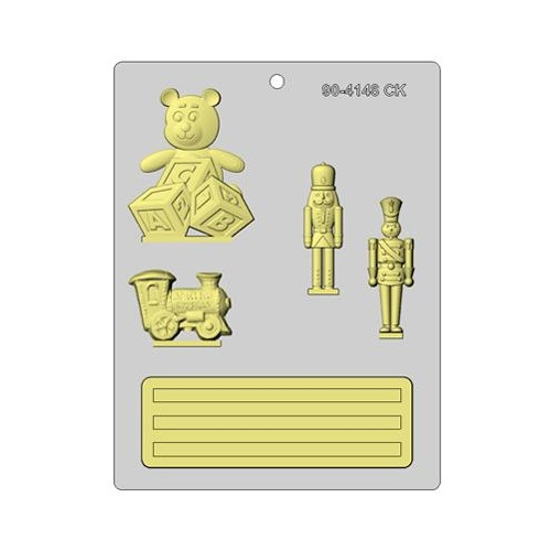 Christmas Toys Theme Mould